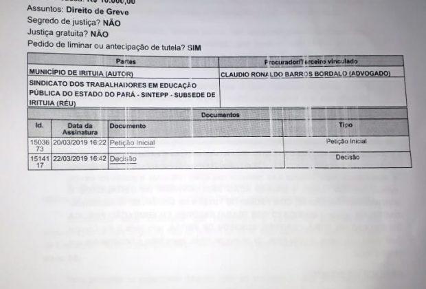 Justiça proíbe prefeito de Concórdia de reduzir salários dos Profissionais do Magistério