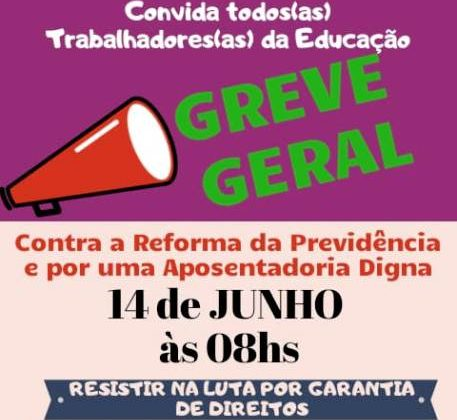 SINTEPP Xingu convoca GREVE GERAL – 14 de junho