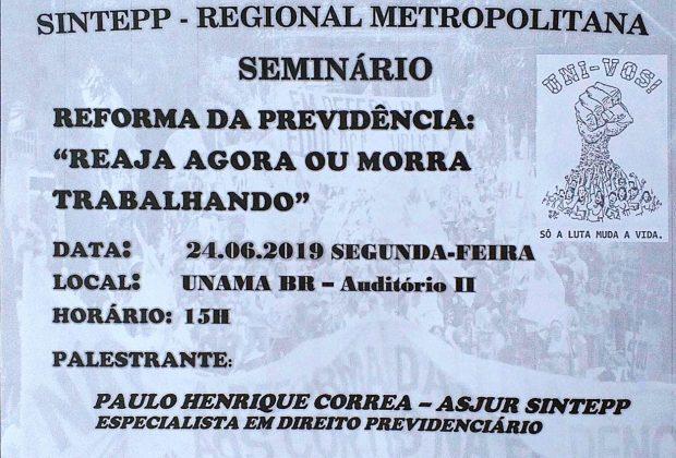 Seminário Reforma da Previdência