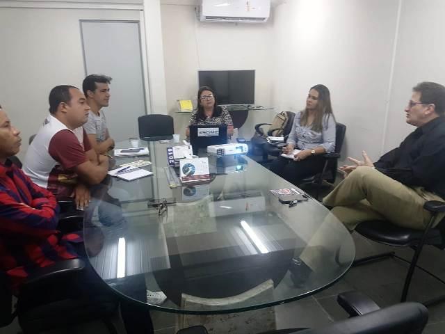 SINTEPP reúne com SEDUC para discutir SOME