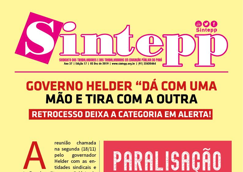 Sintepp Informa nº 17|2019 – 27/11/2019