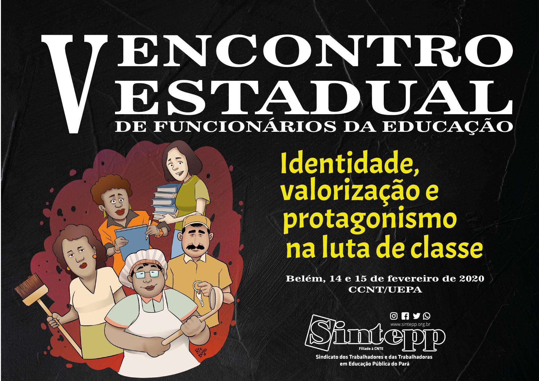 V Encontro Estadual dos Funcionários da Educação do SINTEPP
