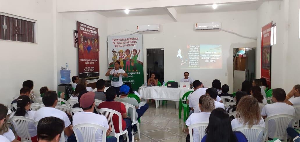I ENCONTRO DE FUNCIONÁRIOS DA EDUCAÇÃO DA REGIONAL NORDESTE 1 DO SINTEPP