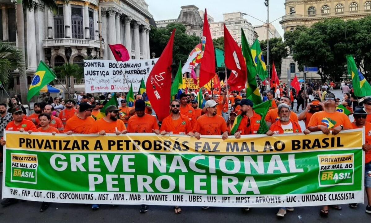 Moção de apoio – Greve Nacional Petroleira