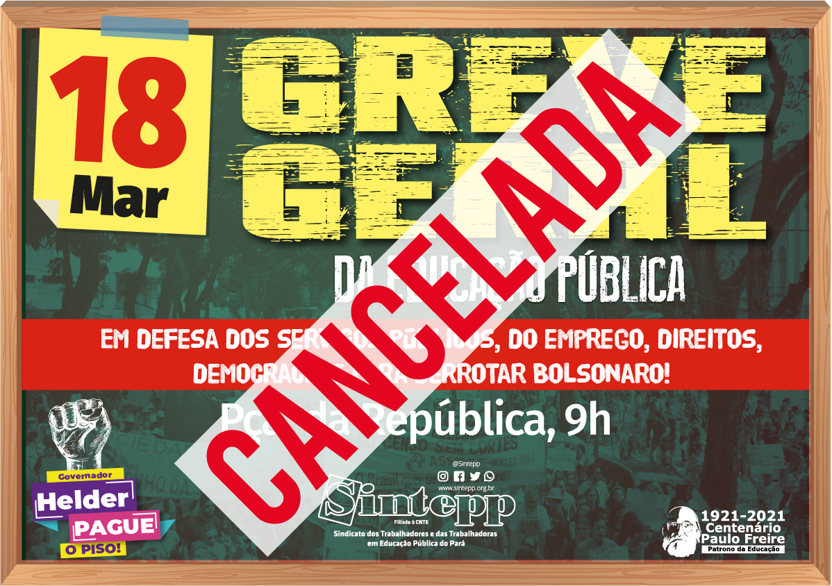 Defender a educação, os direitos e a democracia. Ocupar as ruas e derrotar Bolsonaro!