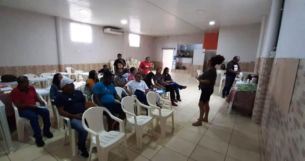 Reunião em Xinguara define trabalhos da Coordenação Regional Sul