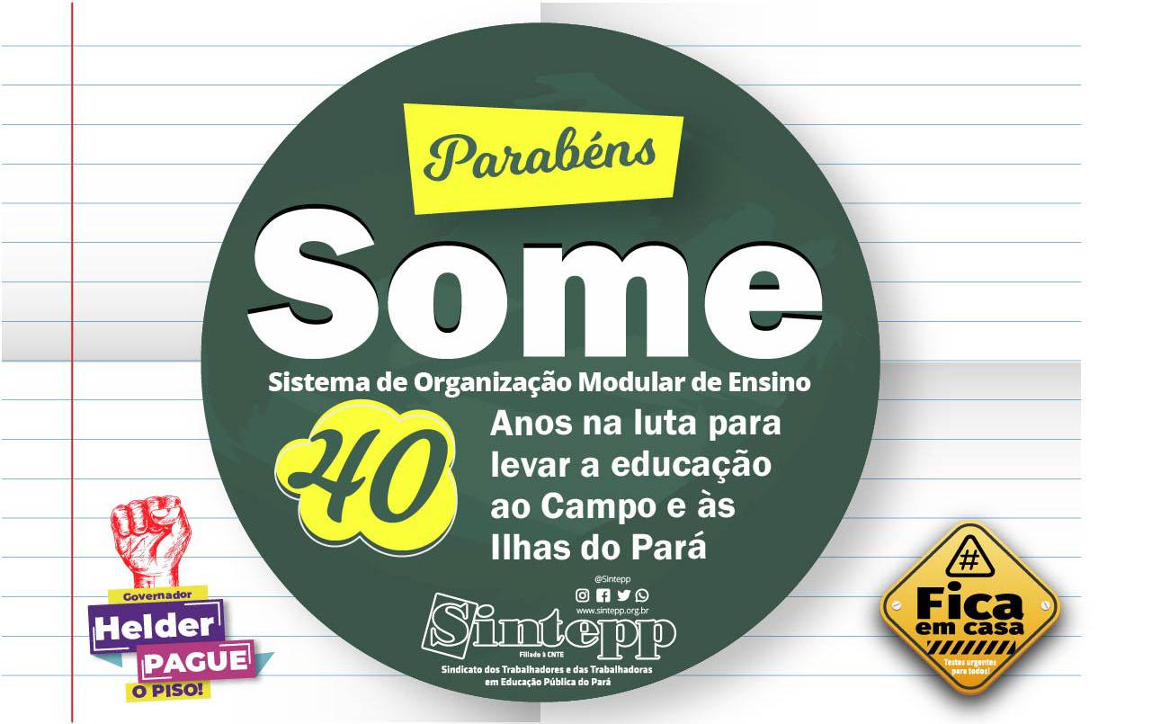 Some: 40 anos levando educação ao campo e às ilhas do Pará