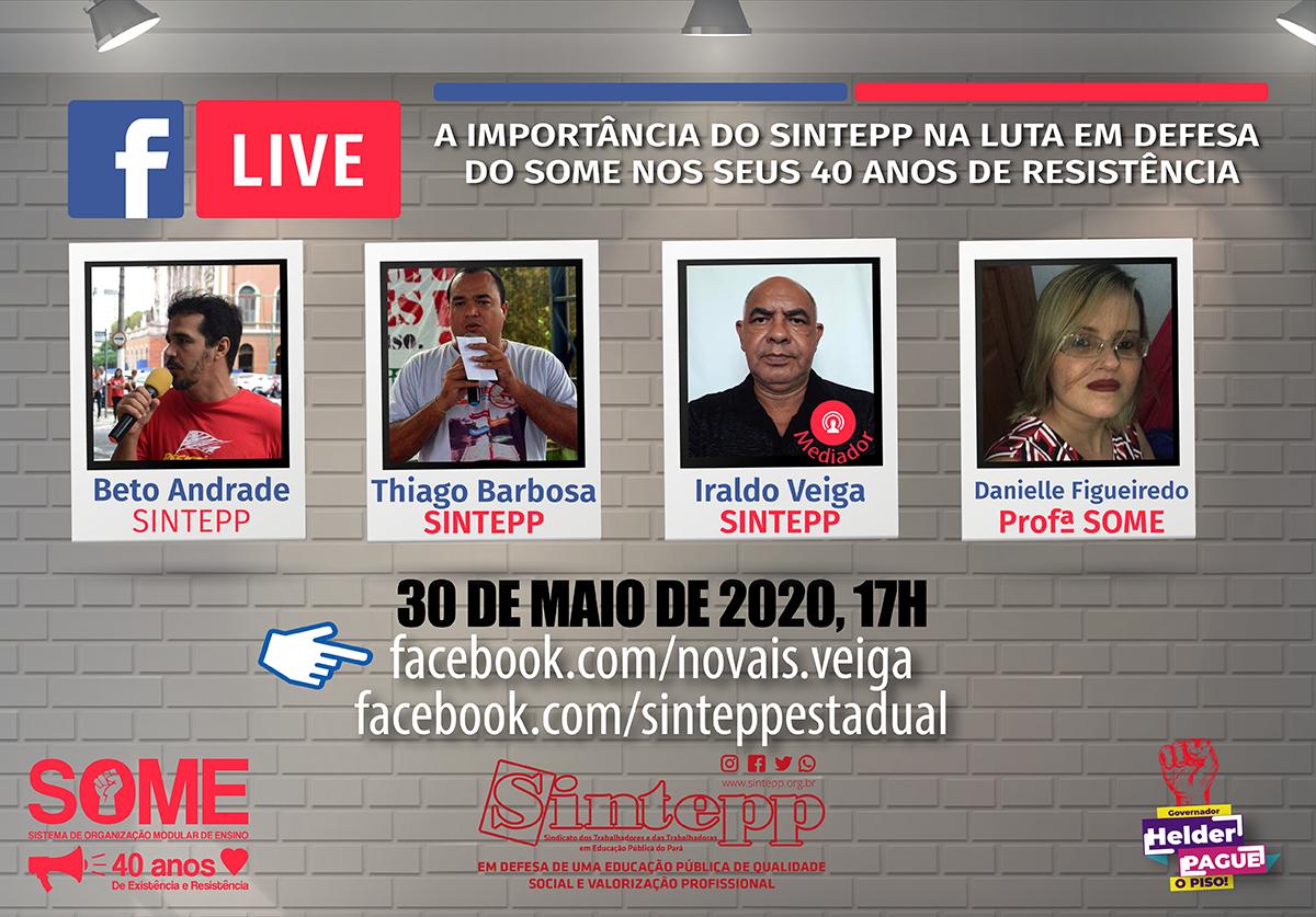 Live do SOME – 30.05 – 17h
