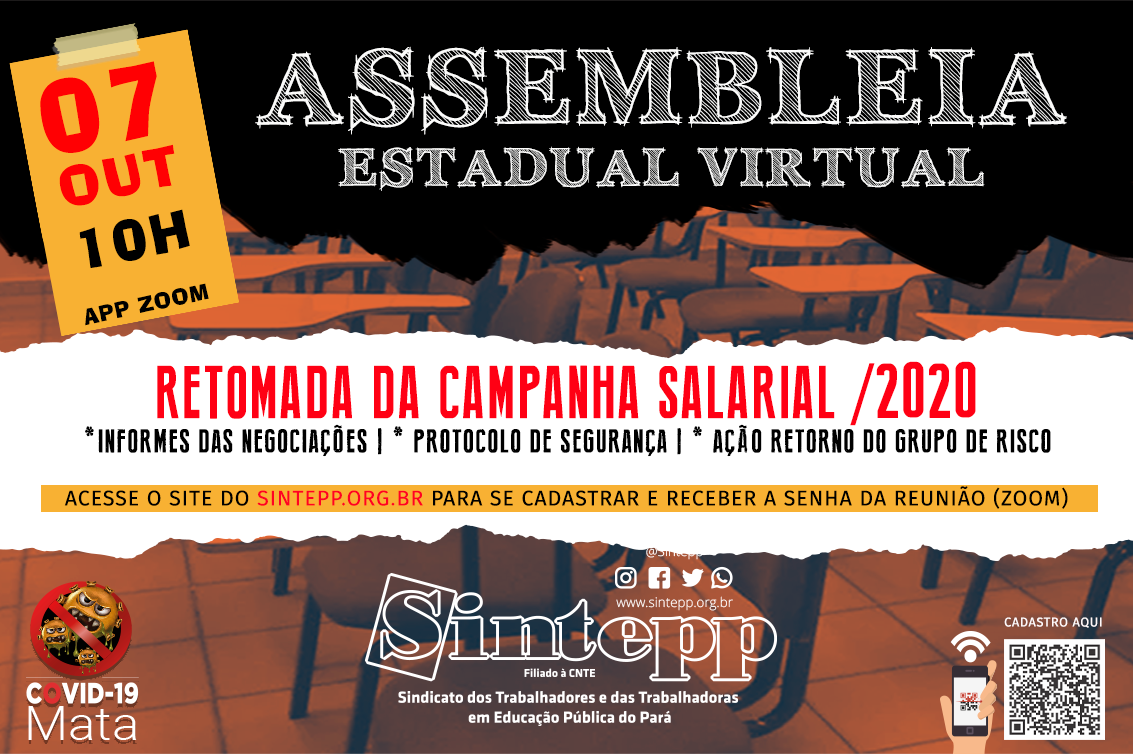 07|OUT: Assembleia Virtual do Sintepp