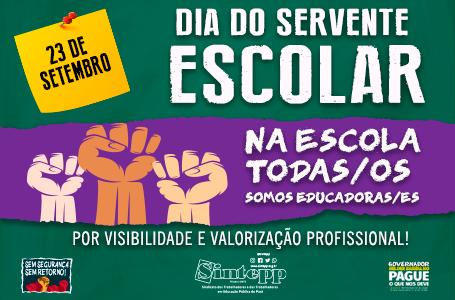 23|Set – Dia do Servente Escolar