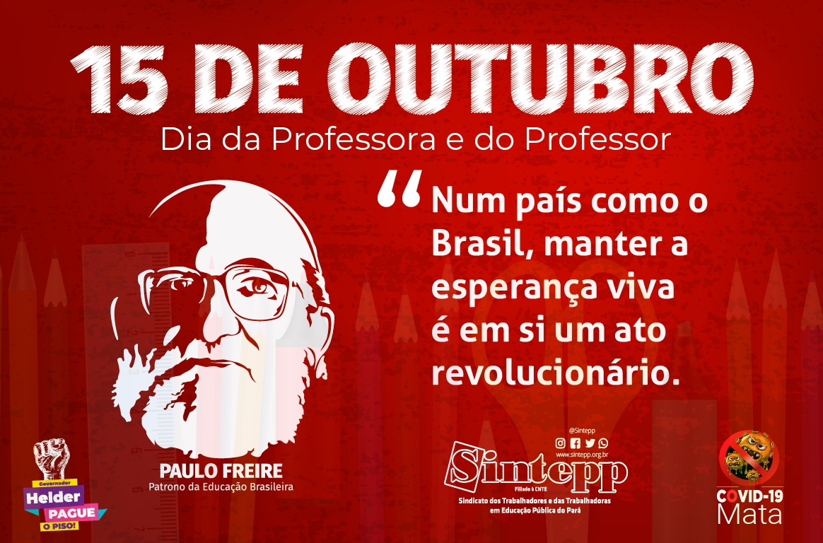 15 de outubro – Dia da Professora e do Professor