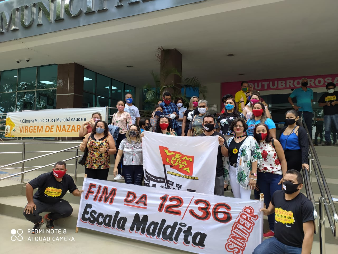 Prefeito Tião Miranda (Marabá) causa rombo de mais 18 milhões no bolso dos Trabalhadores da Educação