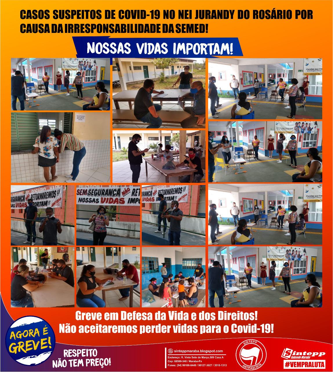 Greve na Educação de Marabá: nossas vidas importam!