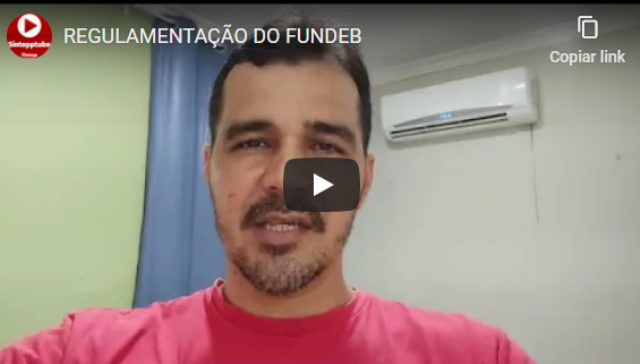 REGULAMENTAÇÃO DO FUNDEB