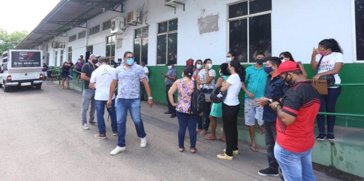 Professores de Marabá ocupam Sevop e reivindicam retroativo pago pela metade
