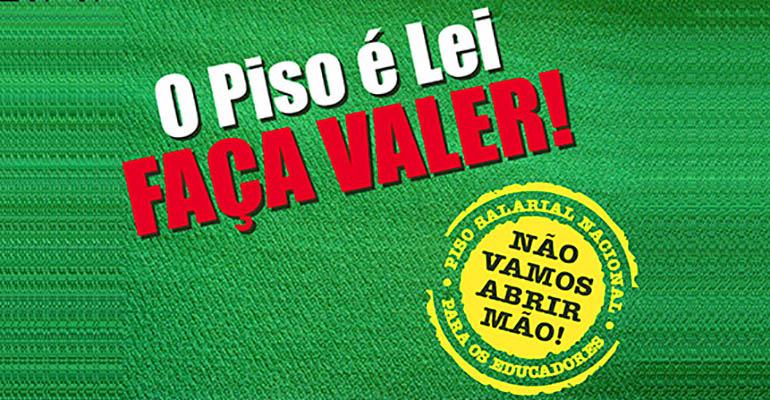 SINTEPP Marabá: informativo retroativo do piso magistério
