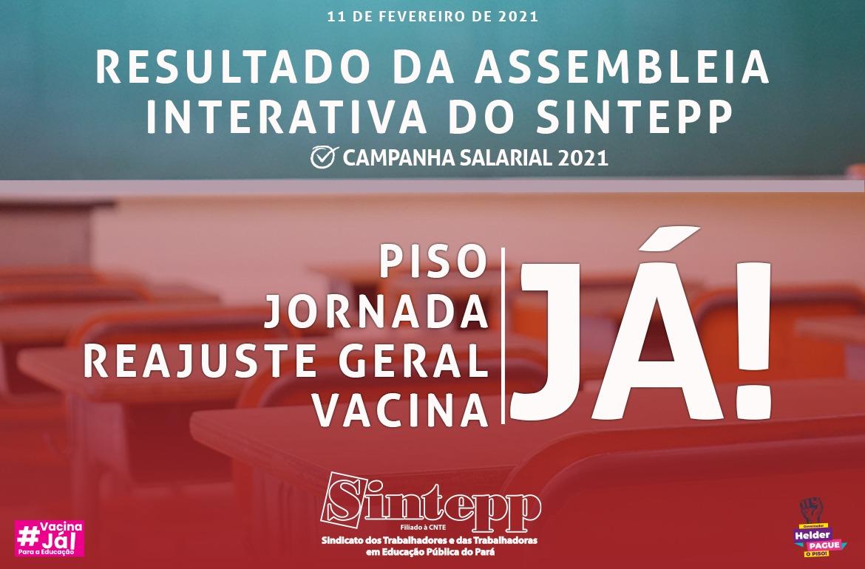 Categoria exige garantia de jornada, reajuste e vacina já!
