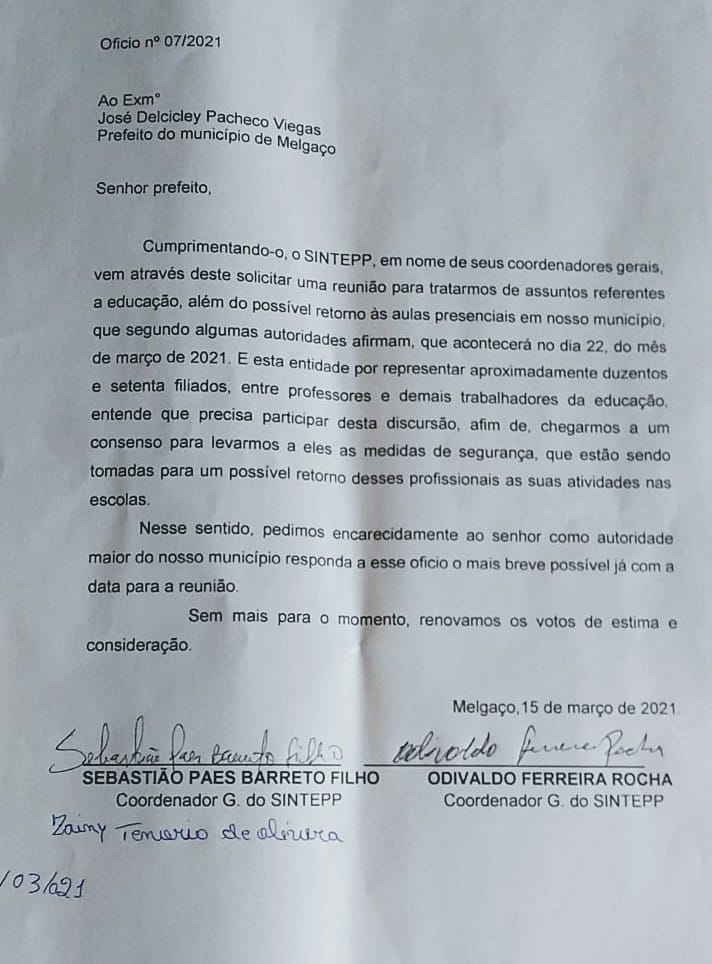 Prefeitura de Melgaço impõe aulas presenciais na pior fase da pandemia