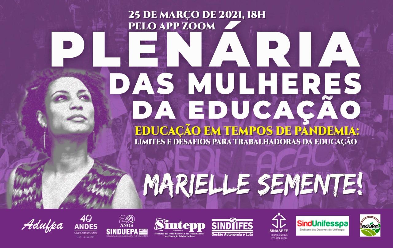 Plenária das Mulheres da Educação – 25|03