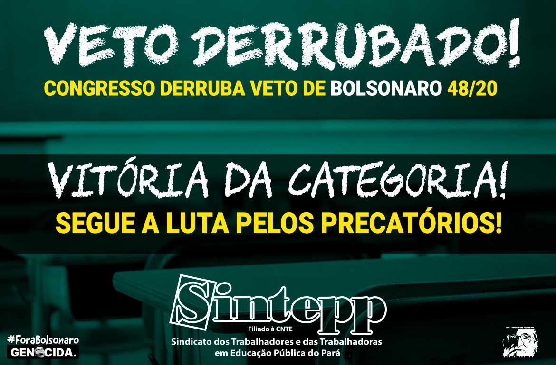 Congresso derruba veto de Bolsonaro e luta pelos precatórios segue