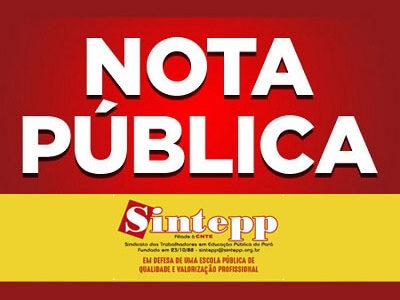 Sintepp se solidariza com Dep. Federal Vivi (Psol/PA) e cobra apuração do ataque ao seu escritório
