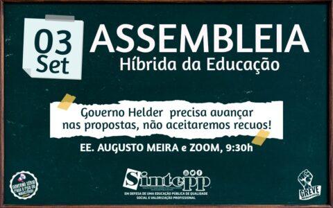 03|09 – Assembleia da Educação