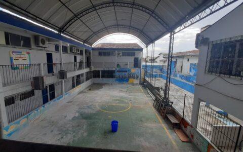 Com infiltrações, pouca ventilação e baixa estrutura, escolas de Ananindeua têm retorno às aulas prejudicado