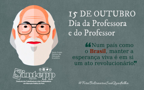 15 DE OUTUBRO – DIA DA PROFESSORA E DO PROFESSOR